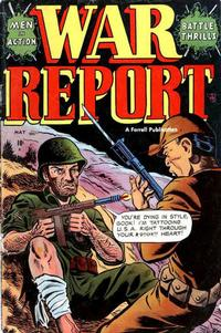 Cover Thumbnail for War Report (Farrell, 1952 series) #5