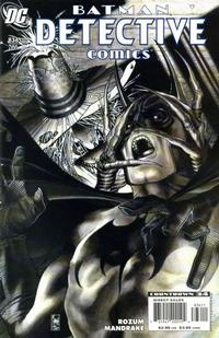 Cover Thumbnail for Detective Comics (DC, 1937 series) #836 [Direct]