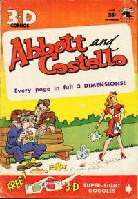 Cover Thumbnail for Abbott and Costello 3-D (St. John, 1953 series) #1