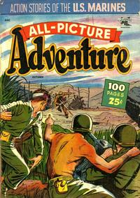 Cover Thumbnail for All Picture Adventure Magazine (St. John, 1952 series) #1