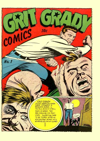 Cover for Grit Grady Comics (Holyoke, 1944 series) #1