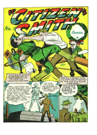 Cover for Citizen Smith Comics (Holyoke, 1944 series) #9