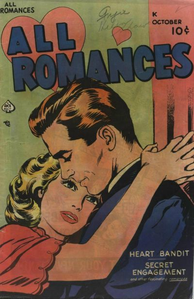Cover for All Romances (Ace Magazines, 1949 series) #2