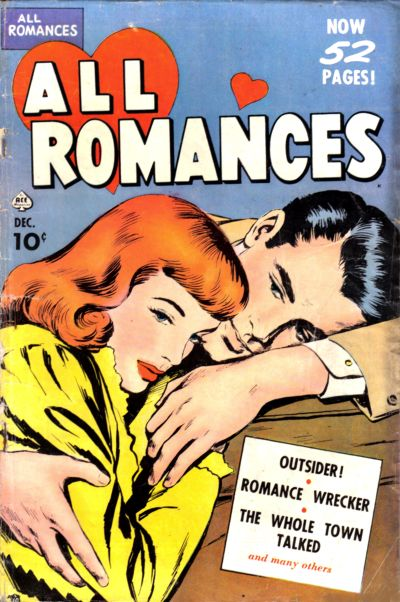 Cover for All Romances (Ace Magazines, 1949 series) #3