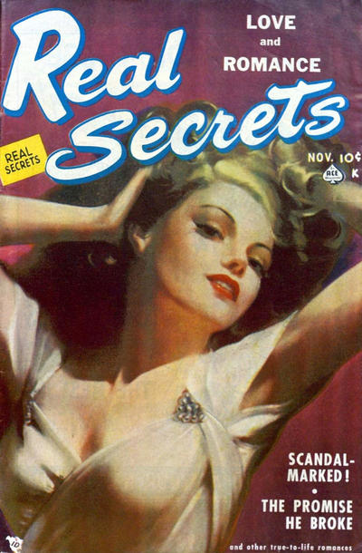 Cover for Real Secrets (Ace Magazines, 1949 series) #2