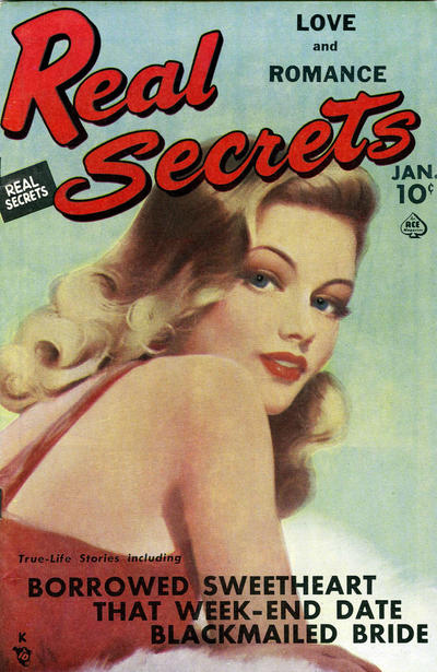 Cover for Real Secrets (Ace Magazines, 1949 series) #3