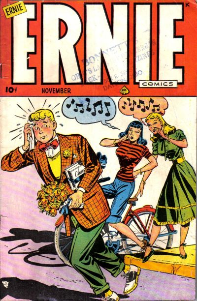 Cover for Ernie Comics (Ace Magazines, 1948 series) #[23]