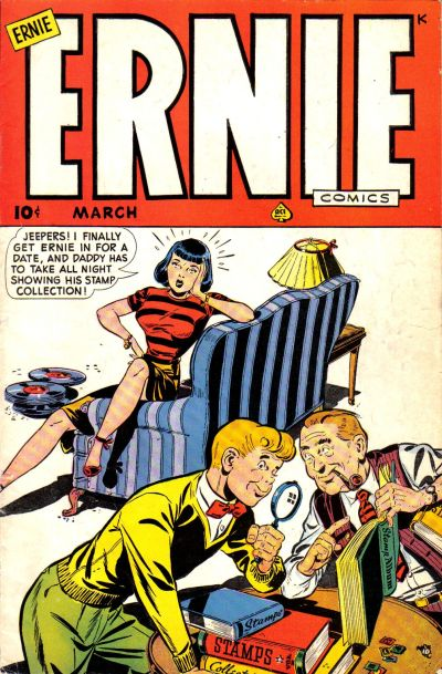 Cover for Ernie Comics (Ace Magazines, 1948 series) #25
