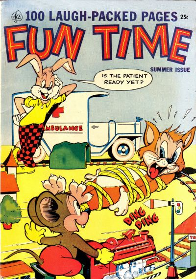 Cover for Fun Time (Ace Magazines, 1953 series) #[2]