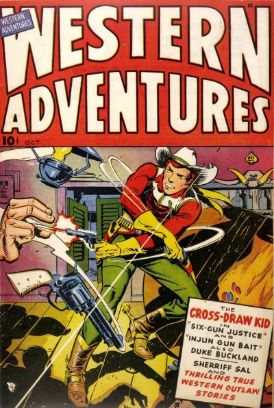 Cover for Western Adventures (Ace Magazines, 1948 series) #[1]