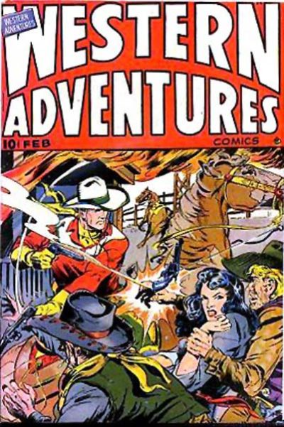 Cover for Western Adventures (Ace Magazines, 1948 series) #[3]