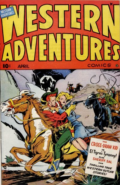 Cover for Western Adventures (Ace Magazines, 1948 series) #4