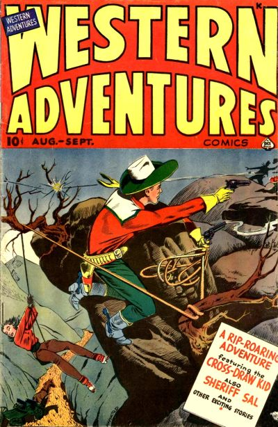 Cover for Western Adventures (Ace Magazines, 1948 series) #6