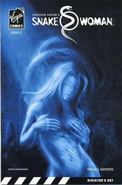 Cover for Snake Woman (Virgin, 2006 series) #5