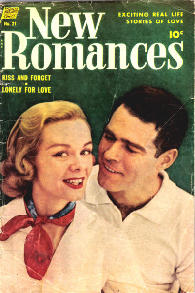 Cover for New Romances (Pines, 1951 series) #21