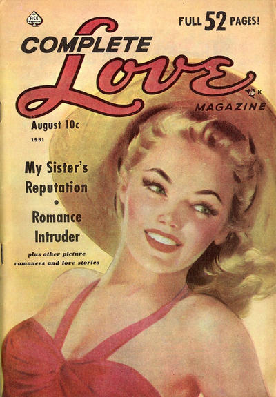 Cover for Complete Love Magazine (Ace Magazines, 1951 series) #v26#3 [159]