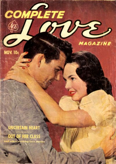 Cover for Complete Love Magazine (Ace Magazines, 1951 series) #v27#5 [167]