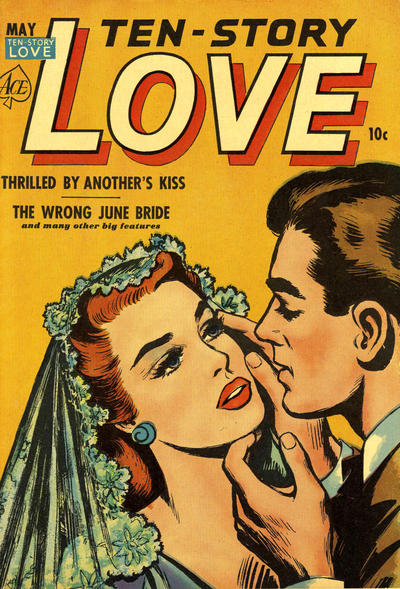 Cover for Ten-Story Love (Ace Magazines, 1951 series) #v30#2 [182]