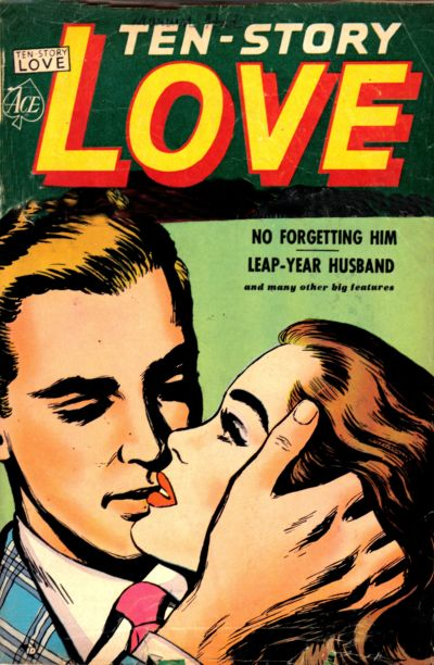 Cover for Ten-Story Love (Ace Magazines, 1951 series) #v30#4 [184]