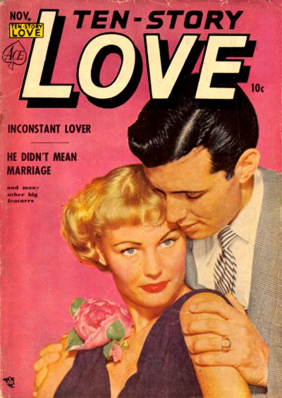 Cover for Ten-Story Love (Ace Magazines, 1951 series) #v30#5 [185]