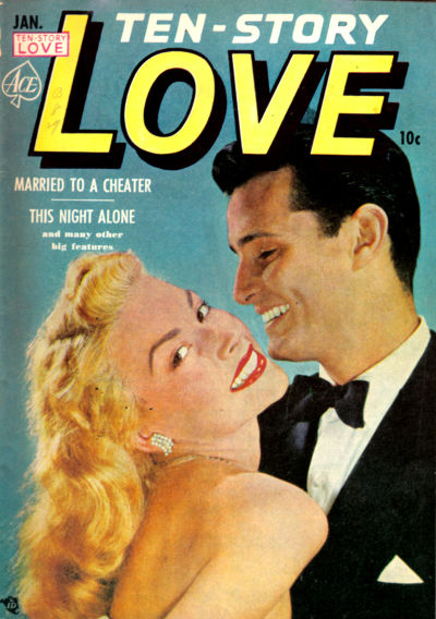 Cover for Ten-Story Love (Ace Magazines, 1951 series) #v30#6 [186]