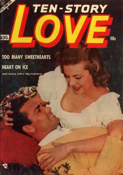 Cover for Ten-Story Love (Ace Magazines, 1951 series) #v32#4 [190]