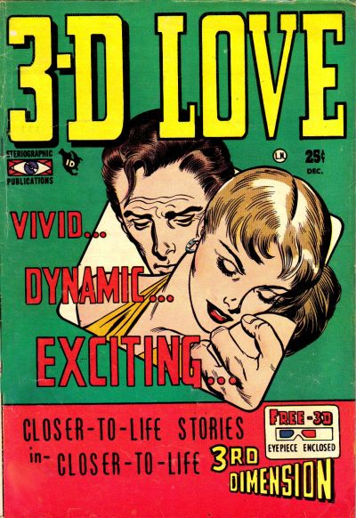 Cover for 3-D Love (Mikeross Publications, 1953 series) #1