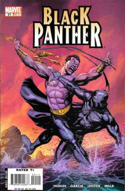 Cover for Black Panther (Marvel, 2005 series) #21 [Second Printing]