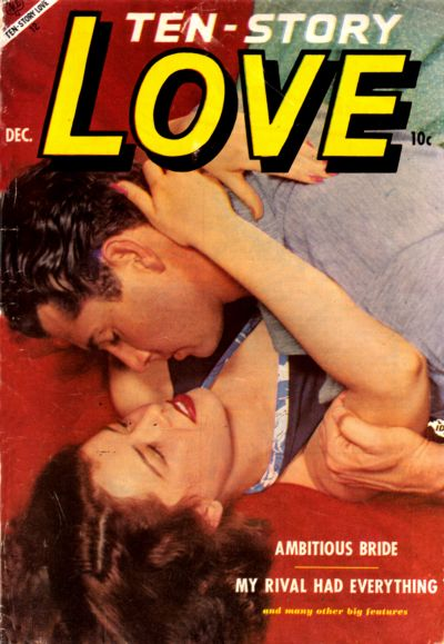 Cover for Ten-Story Love (Ace Magazines, 1951 series) #v32#6 [192]