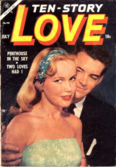 Cover for Ten-Story Love (Ace Magazines, 1951 series) #v34#4 / 196