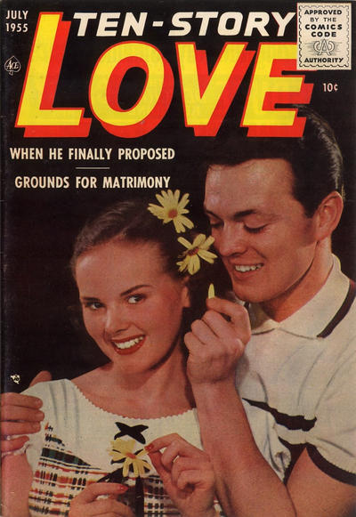 Cover for Ten-Story Love (Ace Magazines, 1951 series) #v35#5 / 203