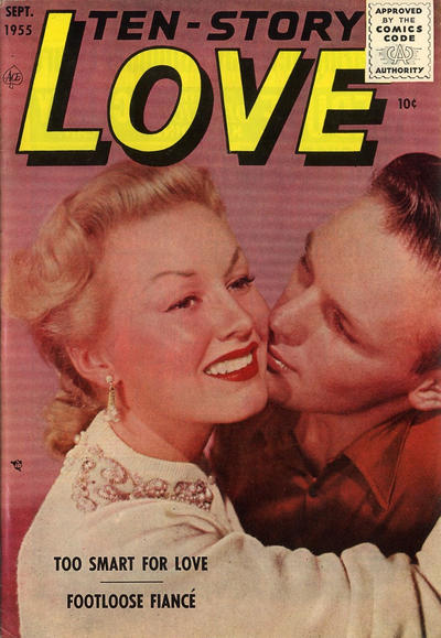 Cover for Ten-Story Love (Ace Magazines, 1951 series) #v35#6 / 204