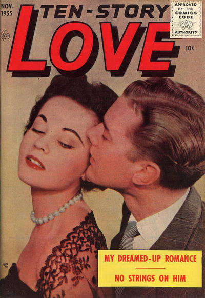 Cover for Ten-Story Love (Ace Magazines, 1951 series) #v36#1 / 205