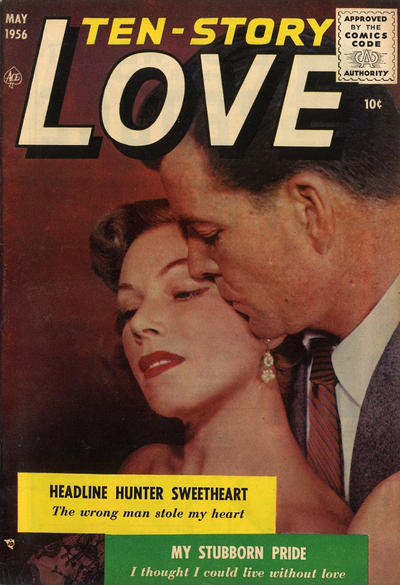 Cover for Ten-Story Love (Ace Magazines, 1951 series) #v36#4 / 208