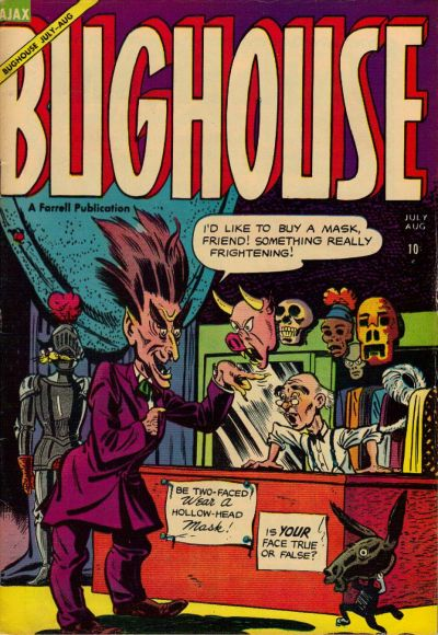 Cover for Bughouse (Farrell, 1954 series) #3