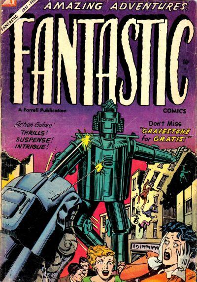 Cover for Fantastic Comics (Farrell, 1954 series) #11