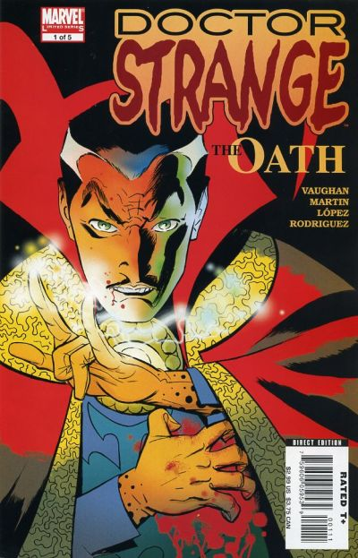 Cover for Doctor Strange: The Oath (Marvel, 2006 series) #1 [Direct Edition]
