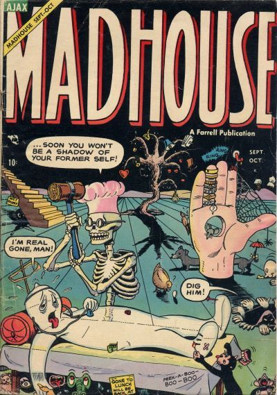 Cover for Madhouse (Farrell, 1954 series) #4