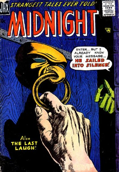 Cover for Midnight (Farrell, 1957 series) #5