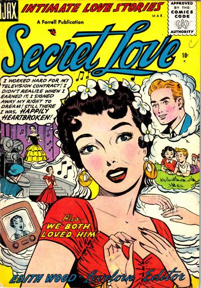 Cover for Secret Love (Farrell, 1955 series) #2