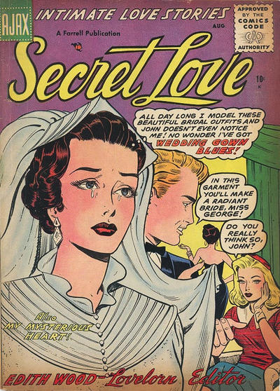 Cover for Secret Love (Farrell, 1955 series) #3