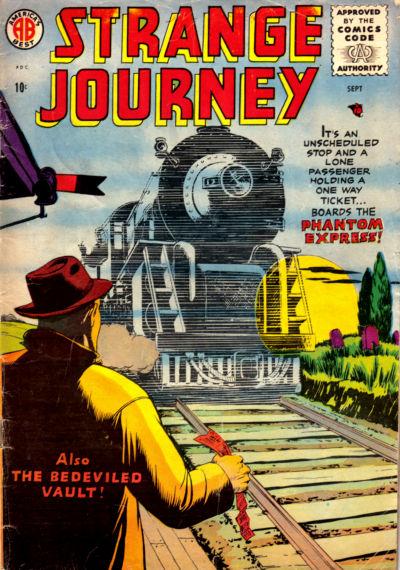 Cover for Strange Journey (Farrell, 1957 series) #1