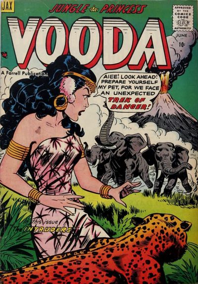 Cover for Vooda (Farrell, 1955 series) #21