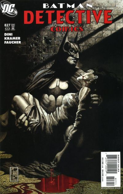 Cover for Detective Comics (DC, 1937 series) #827