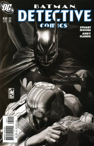 Cover for Detective Comics (DC, 1937 series) #830