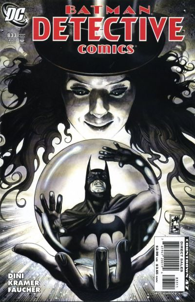 Cover for Detective Comics (DC, 1937 series) #833