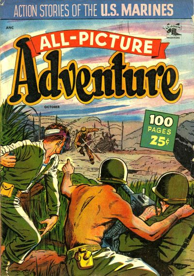Cover for All Picture Adventure Magazine (St. John, 1952 series) #1