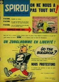 Cover Thumbnail for Spirou (Dupuis, 1947 series) #1139