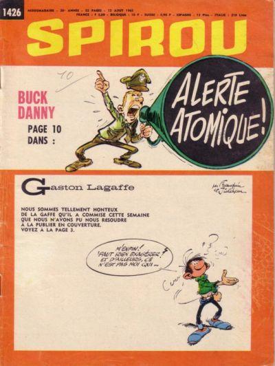 Cover for Spirou (Dupuis, 1947 series) #1426