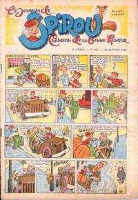 Cover Thumbnail for Le Journal de Spirou (Dupuis, 1938 series) #407